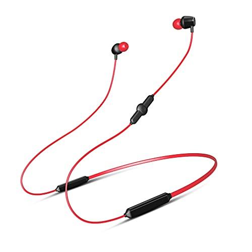 AQUYY Auriculares Deportivos Inalambricos Auricular In-Ear Bluetooth, Cascos Inalambricos Magnéticos IPX5 Impermeable, 48H de Reproducción, Auriculares Estéreo para Correr Fitness Conducción Red