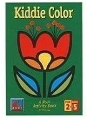 Kiddie Farbe A Buki Activity Book by Poof Slinky