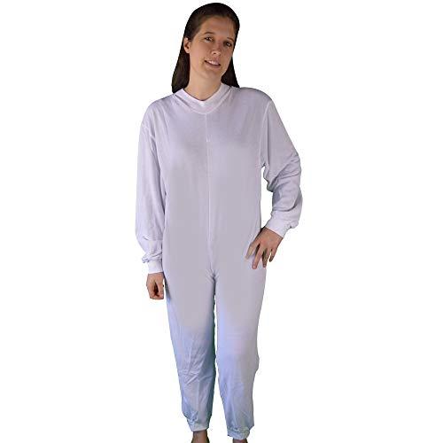 Pijama antipañal de punto (invierno) manga y pierna larga talla XL