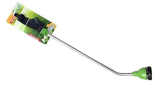 Leyenda Pistolet d'arrosage télescopique extensible 8 jets différents tête réglable professionnelle arrosage jardin nettoyage 102 cm