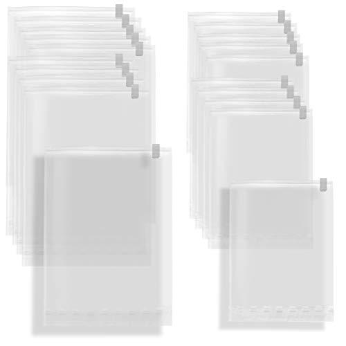 ベーシックスタンダード 衣類 収納 圧縮 圧縮袋 掃除機 不要 逆止弁 バルブ 日本製 (旅行 便利グッズ 服 衣替え 収納 に) M10枚+ L10枚 セット Amazon.co.jp限定