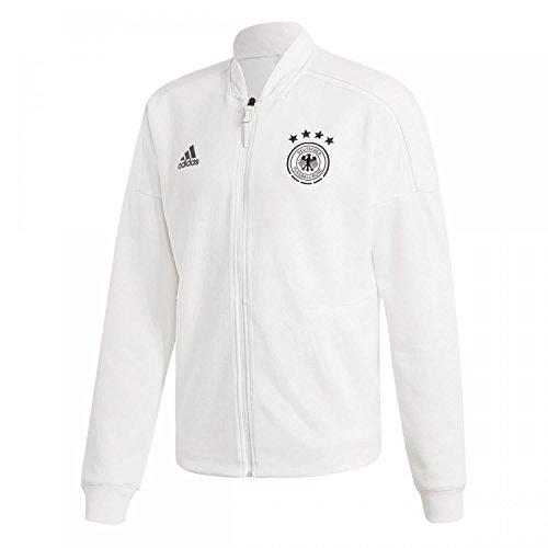 adidas Herren DFB Zone Jacket Knitted Trainingsjacke, White, M