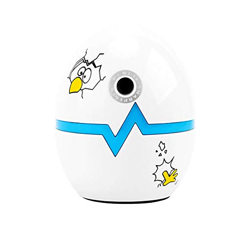 TONGBOSHI Cartoon Hand-cranked Sharpener, Automatic Lead-Turning Pen Knife, Broken Egg, Blue/Yellow/red Color Random, The Best Choice for consumers