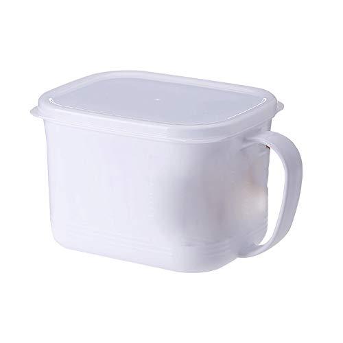 Kcakek Koelkast Storage Box Kitchen Scherper Plastic Storage Containers Voedsel Organizer Dozen met Deksels for Keuken Storage Bins Diepvries Pantry Koelkast lade Organizer