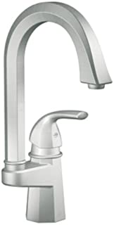 Felicity One Handle Single Hole High Arc Single Mount Bar Faucet Finish: Classic Stainless