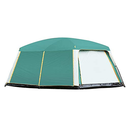 Hengta Tent, 8 to 10 man Festival tent, large Dome Tent with full standing head height, 100% waterproof Family Camping Tent with sewn in groundsheet