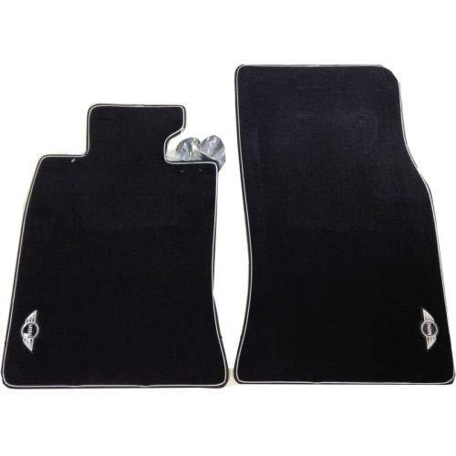 Original MINI Soft-Velours Fußmatten Cosmopolitan vorne für MINI R55, R56, R57, R58, R59