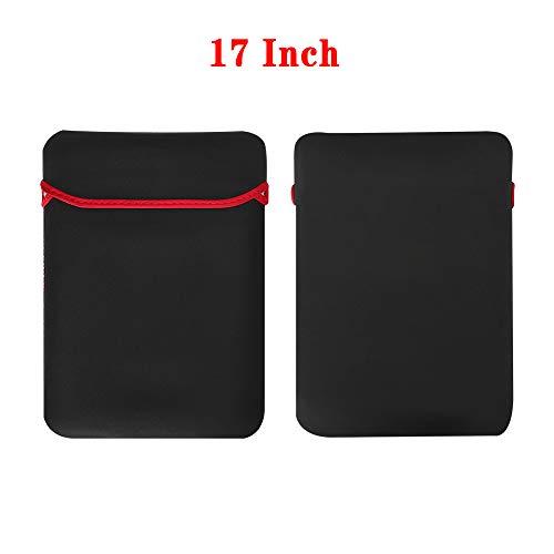 Carryyourlife - Funda para Ordenador portátil de 9 a 17 Pulgadas, Ultrafina, Suave, Impermeable, a Prueba de Golpes, a Prueba de Golpes, para Apple DELL Lenovo ASUS Xiaomi 17 Inch