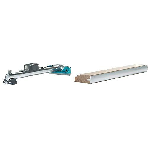 wolfcraft Hammer-Zugeisen 6945000 – Werkzeug zum Verlegen von Laminat und Parkett – 3-in-1-Funktion – Hammer, Schlagholz und Zugeisen in einem Produkt & 6947000 Schlagholz Profi, beige