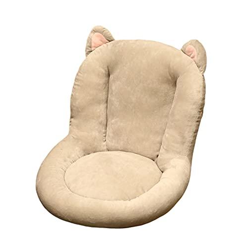 CYGJ Cuscino Spesso Sedia con Schienale,EMI-Chiuso Ufficio Sedia Cuscino Antiscivolo Indietro Cuscino Un Pezzo Ammortizzatore Spesso Cuscino del Divano Sensazione Confortevole