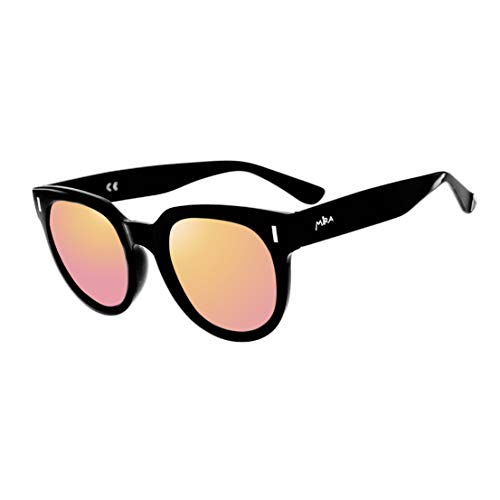 MIRA Midnight Purple Sunglasses - Polarized, Lenses with 100% UVA and UVB Outdoor Protection - Comfortable Aviator Square Design - Includes Soft Carrying Bag