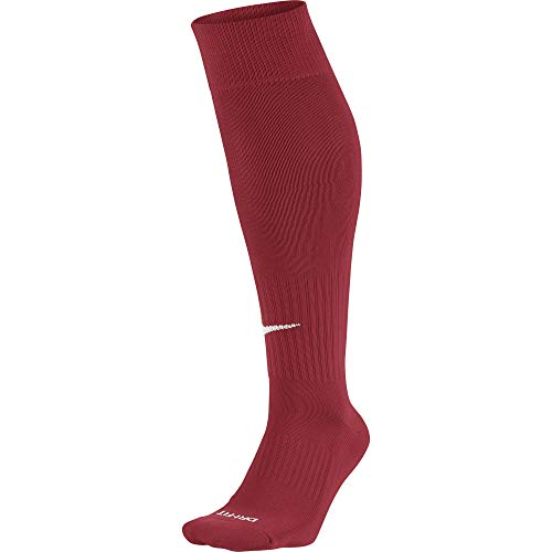 Nike Knee High Classic Football Dri Fit, Calzini Unisex, Rosso (Varsity Red/White), 42-46
