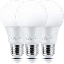 Cesspon Dimmable Led Light Bulbs 9 Watt 90 Watt Equivalent, A19 E26, 6000K Daylight White, 1000 Lumens Bright, Medium Scre...