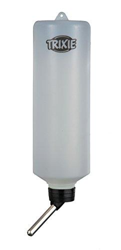 Trixie Kleintiertränke, Trinkflasche – 600 ml für z.B. Kaninchen, diverse Farben - 3