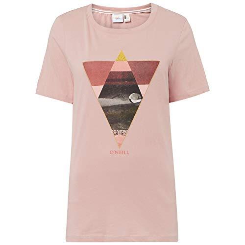 O'NEILL LW AELLA T-Shirt Tees. Femme, Vieux Rose, m