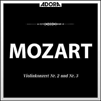 Mozart: Violinkonzerte No. 2, K. 211 und No. 3, K. 216