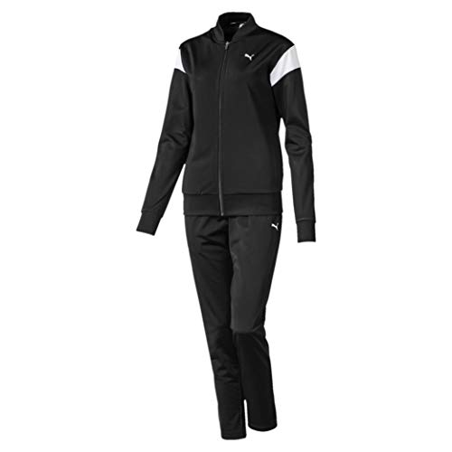 PUMA Damen Classic Tricot Suit, op Trainingsanzug, Black, S