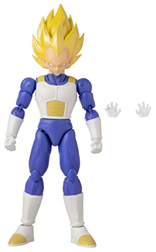 BANDAI Dragon Ball Super - Dragon Stars Super Saiyan Vegeta-Version 2 Figure (Series 15)