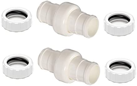 ATIE Pool Cleaner Hose Swivel 9 100 3002 Hose Nut 9 100 3109 Combo Replacement Kit for Zodiac product image