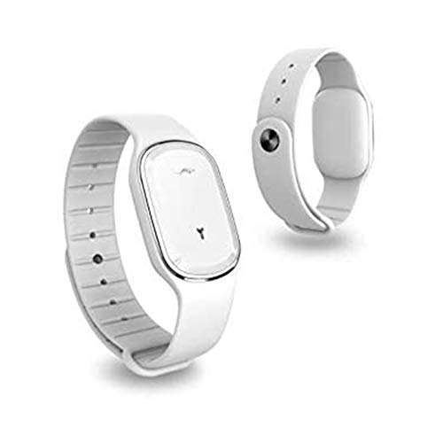 Elektronisch horloge muggenspray, waterdicht, opladen via USB, geschikt voor kinderen en volwassenen outdoor muggenspray (kleur: zwart + wit)