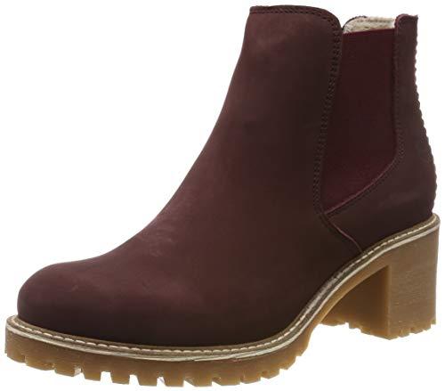Tamaris Damen 1-1-25447-23 Chelsea Boots, Rot (Bordeaux 549), 39 EU
