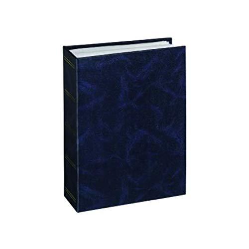 Hama Birmingham Fotoalbum Blau - Fotoalben (Blau, 100 Blätter, 10 x 15, 100 Blätter, 12 mm, 16,5 mm)