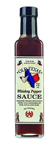 Old Texas Whiskey Pepper Steak Sauce 250 ml