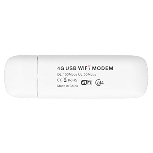 GUSTAR WiFi para Coche, Punto de Acceso WiFi móvil 4G LTE para Windows XP/Vista/Win 7/8/10 / OS X/Android/Linux Compatible con WiFi LTE B1 / B3 / B5