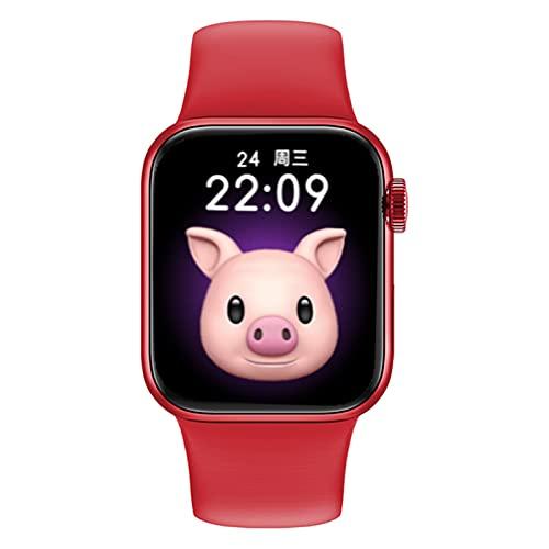 Smart Watch I12 1.69 Pulgadas Pantalla Completa Bluetooth Call Fitness Ratio Cardíaco Impermeable Deportivo Reloj Inteligente Hombres Hombres,B