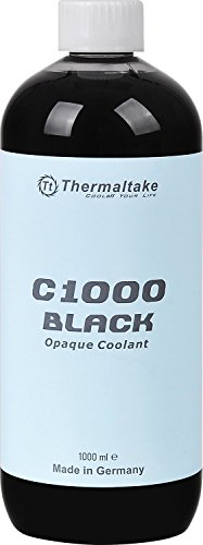 Thermaltake C1000 1000ml Vivid Color Computer Water Cooling System Coolant Cooling CL-W114-OS00BL-A, Black
