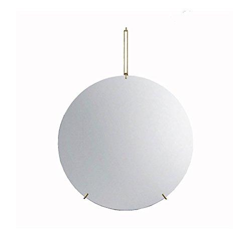YONG FEI Mur-monté en métal clair traitement anti-émeute de fer forgé de soudage n'est pas facile à tomber 4 tailles disponibles pour toutes les occasions miroir de dressage créatif haute qualité