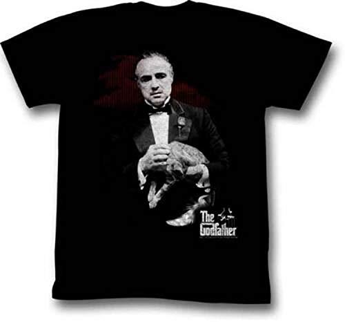 Kke The Godfather Contemplating Adult T Shirt Gangster Movie Black