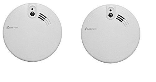 Kidde - Detector Humo Firex KF2 4973 con Conexión a La Red Eléctrica Óptico