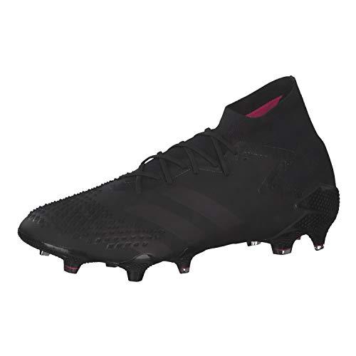adidas Predator MUTATOR 20.1 FG, Zapatillas de fútbol Hombre, NEGBÁS/NEGBÁS/ROSSHO, 42 EU