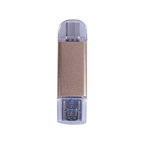 domybest TYPE-C USB 3.0 Multi Memory Card Reader Micro SD Card Reader OTG gold gold