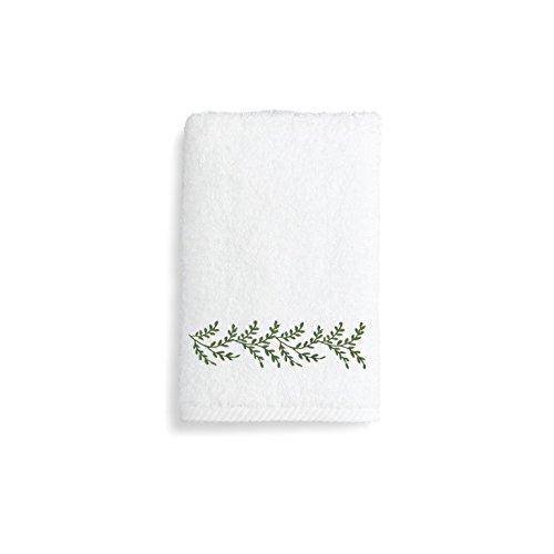 Linum Home Textiles Feuilles d'automne Premium authentique doux 100% coton turc de luxe Hôtel Collection Serviette de toilette