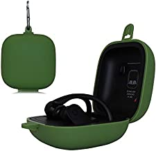 MASiKEN Silicone Case for Powerbeats Pro 2019, Full Protective Silicone Cover Scratch & Shock Resistant for Beats Powerbeats Pro (Green)