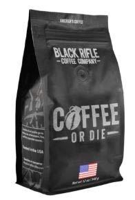Black Rifle Coffee Company Ground Coffee 12oz Bag (Coffee Or Die Ground)