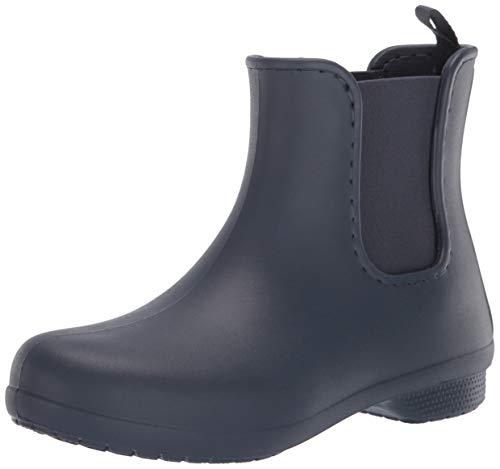 Crocs Damen Freesail Chelsea Boot Gummistiefel, Blau (Navy), 39/40 EU