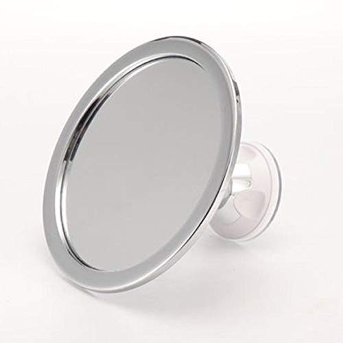 Shower Mirror, Fogless Shower Mirror for Shaving, Makeup Mirror, Alexsix Shaving Mirror | 360 Degree Rotation | Adjustable Angle, Will Not Fall Or Break | Light Weight | Easy to Use