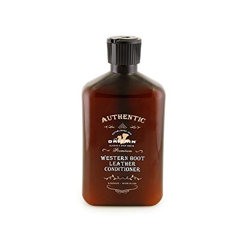 GRIFFIN Western Leather Conditioner - Best Since 1890 to Restore, Soften & Protect (8 oz.)