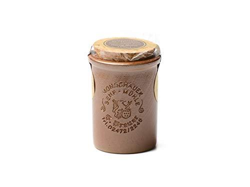 Honig Mohn Senf - Monschauer Senf - Moutarde de Montjoie - 100 ml im Steintopf