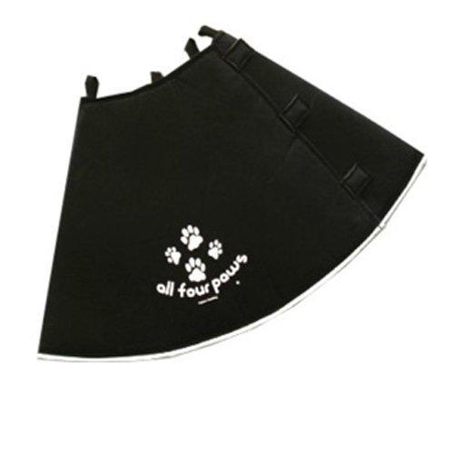 Comfy Cone Soft E-Collar Medium-Long Black 30 cm by All for Paws