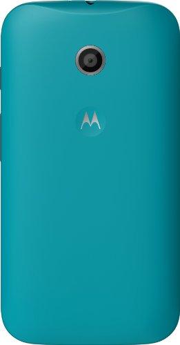 Motorola Clip-On Shell Hülle Schale Case Cover für Moto E Smartphone - Türkis
