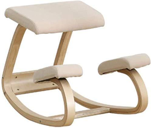 Sillas para arrodillarse Silla de escritorio Silla para computadora Costura multifuncional Oficina...