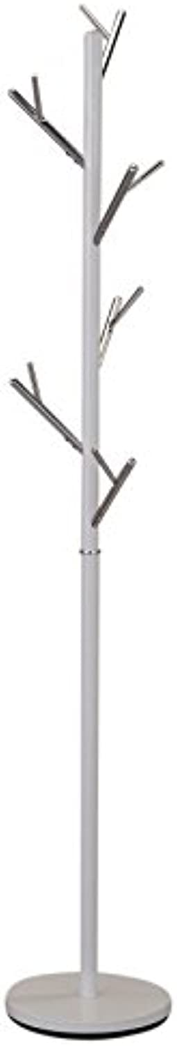 Torina Metal Coat Rack in White