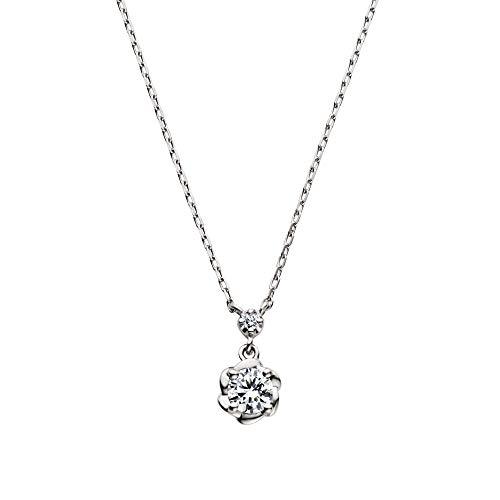 [VAヴァンドーム青山] ダイヤモンド 0.12ct プラチナ Pt900 ネックレス GPAN008540DI