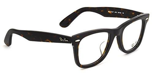 【レイバン国内正規品販売認定店】RX5121F 2012 50サイズ Ray-Ban (レイバン) メガネフレーム と ダテメガネ用レンズ(度なし) のセット