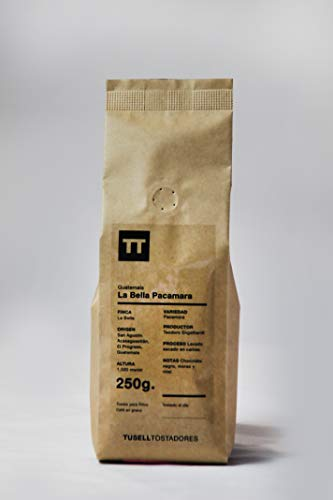 Kaffeebohnen - Filter Kaffee - French Press - V60 - Aeropress - 250g - Pacamara - Finca La Bella - Guatemala - Tusell Tostadores