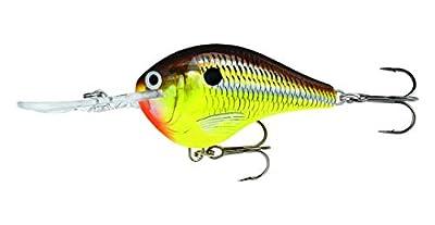 Rapala Dives-To 06 Fishing lure, 2-Inch, Hot Mustard
